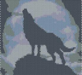 Beaded Wolf Fringe Choker Pattern and Kit!